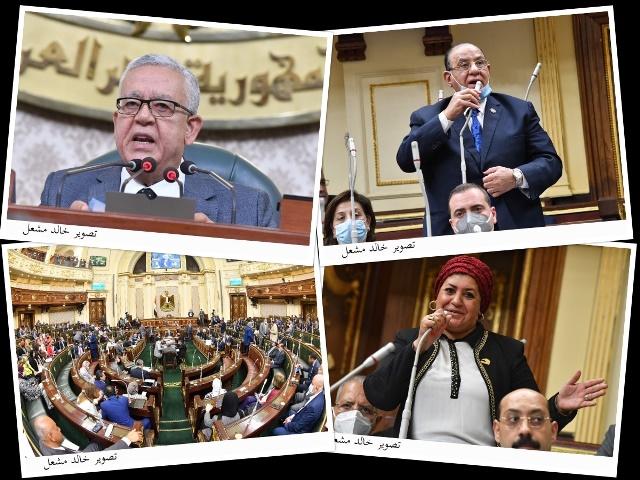 بالصور جلسة مجلس النواب برئاسة المستشار الدكتور حنفي جبالي رئيس المجلس - تصوير خالد مشعل