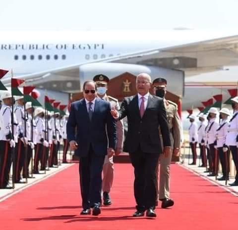 ننشر نص كلمة الرئيس السيسي بالقمة الثلاثية مع العراق والأردن فى بغداد
